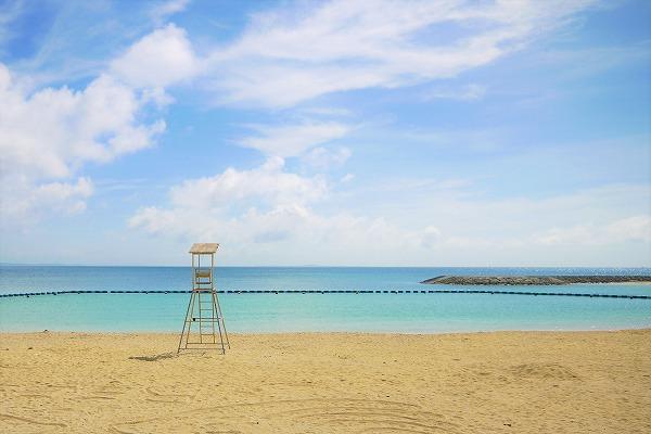 【あざまサンサンビーチ】沖縄県南部のきれいなビーチ!