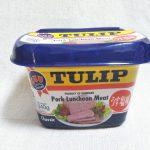 これぞ庶民の味!ポークランチョンミート/SPAM/TULIP