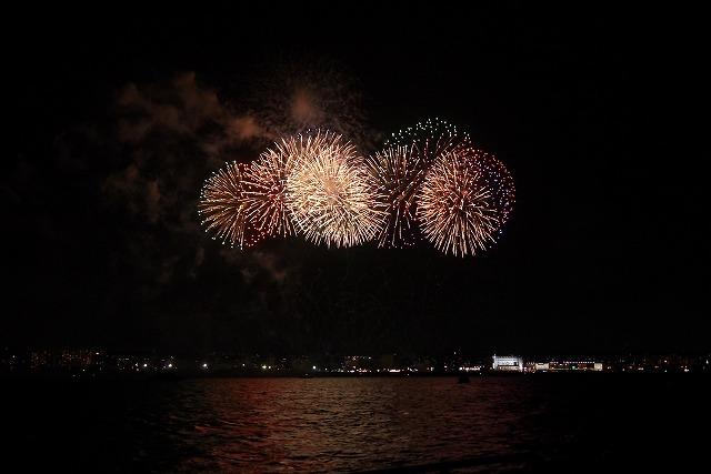 4月開催!音楽と共に夜空を彩る花火は必見!【琉球海炎祭】沖縄県宜野湾市